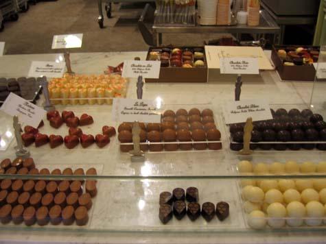 les bonbons at Madame Chocolat
