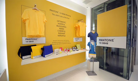 Pantone and Gap love child Mimosa launch