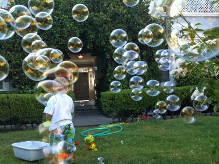 Summer bubbles!