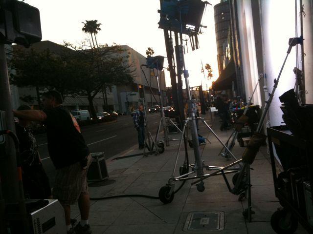 The Beverly Hills Mom » Adam Sandler filming now inside ...