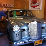 Award winning antique Mercedes