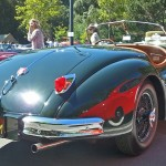 Jaguar 1954-57 XK140 (rear)