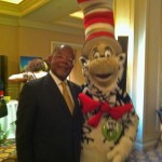 Two sharp PBS cats! The Cat in the Hat with Henry Louis Gates, Jr.