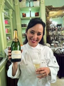 Cheers to you, Madame Chocolate! xoxo