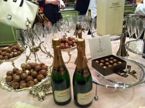 Domaine Carneros Vintage Brut Cuvee' & Madame Chocolat Sparkling truffles!