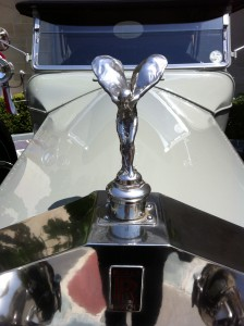 """The """"Spirit of Ecstacy"""" on the 1919 Rolls Royce"""