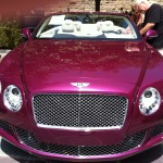 I really need a Bentley that matches my lipstick!