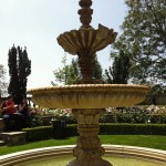 Picture perfect fountain on Greystone grounds