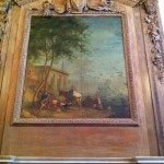 A beautiful painting in the main living room at Greystone