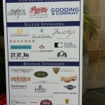 Applause for the sponsors who make the annual event possible...