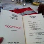 The Body Back menu