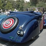 Bugatti 1936 Type 57 Graber Cabriolet trunk