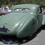 Bugatti 1939 Type 57C Atalante rear view