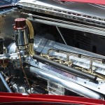 Bugatti 1939 Type 57C Galibier engine