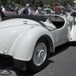 Mercedes-Benz 1938 230 S Special Roadster rear view