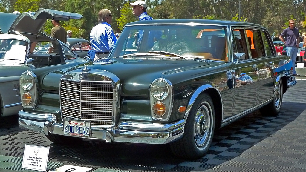 The beverly hills mom mercedes benz 1969 600 swb limosine for Beverly hills mercedes benz service