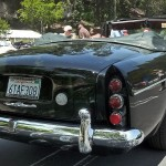Rolls Royce 1964 Silver Cloud III Mulliner Park Ward Drophead Coupé rear view