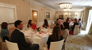 The Body Back tea took place in an intimate setting at the Peninsula Beverly Hills