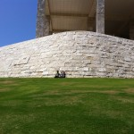 Had a SUPER fun day with Samuel and Aram with lunch on the lawn at the Getty