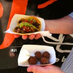 Due to my very strict diet I had to refrain but was seriously envious of BHDad's goodies from the Border Grill food truck at The Rodeo Concours