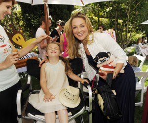 Law and Order alum Elizabeth Rohm with her adorable daughter Easton