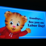 Daniel Tiger's Neighborhood airs on your local PBS station on Labor Day - check your local listings!