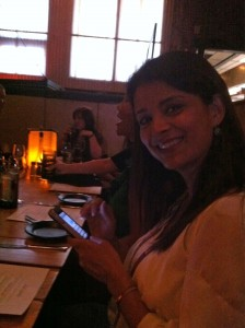 Was so happy to sit with my fellow PBSKids VIP Ana Flores at dinner