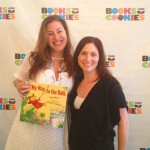 Sarah Maizes and Laura Gershon with Sarah's hilarious new book at Boobiepalooza 2012
