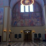 Murals in the Central Library of Los Angeles