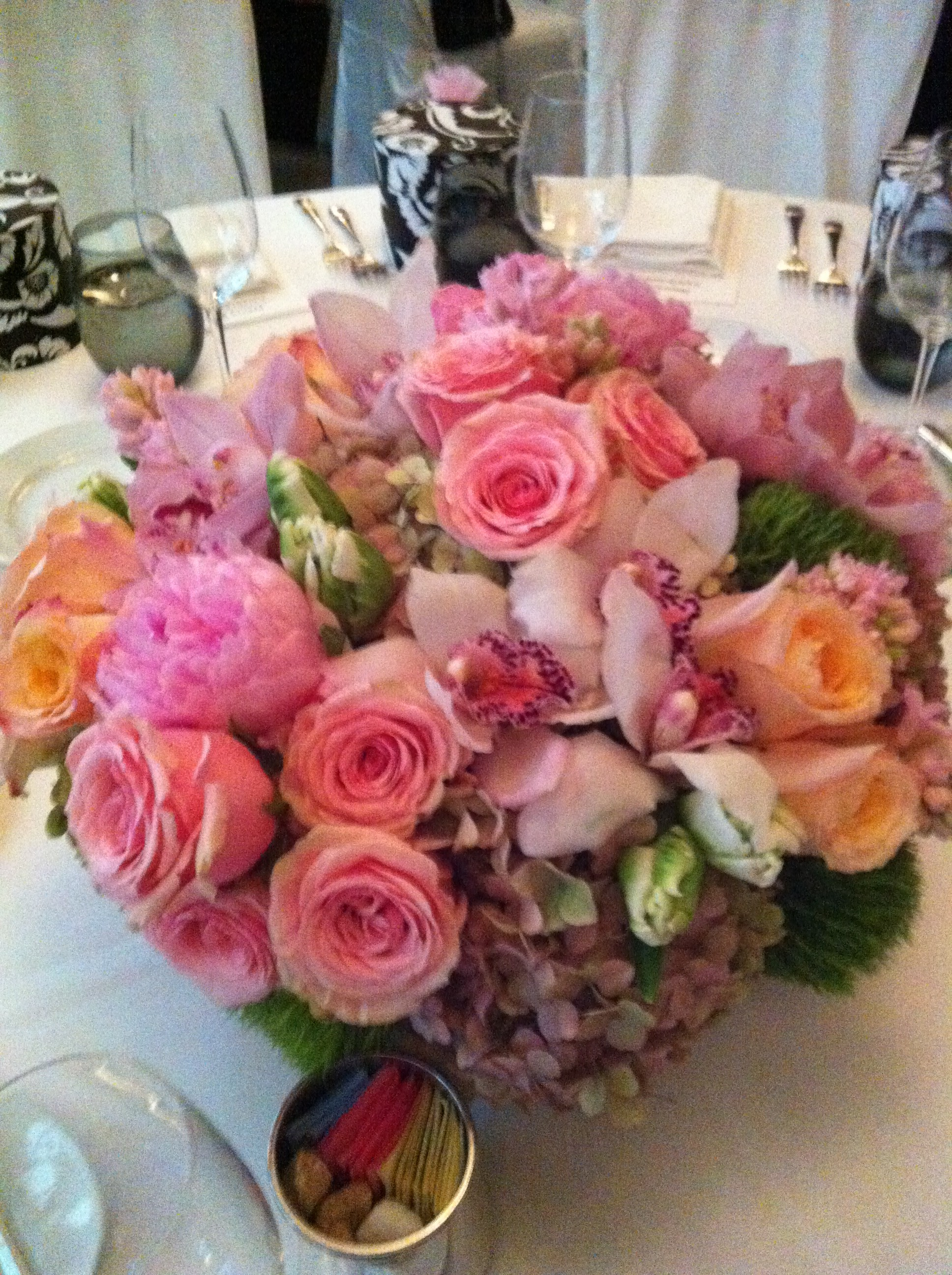 The beverly hills mom gorgeous birthday flowers for an awesome the beverly hills mom gorgeous birthday flowers for an awesome lady at spago beverly hills for nancy krasnes birthday dhlflorist Choice Image