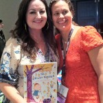 With Jennifer Oxley, cocreater of Peg + Cat - she and fellow creator Billy Aronson signed (and even illustrated!) my book