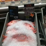 gorgeous local catch of the day at Whole Foods Austin