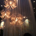 Style report - orb chandeliers and draping make a dramatic entrance into La Condesa