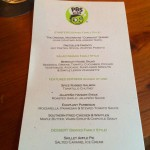 Special menu for the PBS Kids VIPs at Moonshine Grill - we all tried everything and it was all killer comfort food, even for my discerning Southern palette