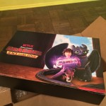 The Critter had a ball with this party box from Netflix at the launch of Dreamworks' Dragons: Race to the Edge to launch the new season of the show on Netflix #StreamTeam