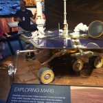 An early Mars Rover in the visitors center at the #JPL