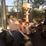 Model of the current Mars Rover at #JPL