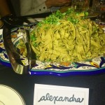 It was so cool to try Skinny Pasta with recipes from Roy Choi's menu at the LINE Hotel