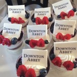 My final *sniff* Downton Abbey dessert with the cast of Downton Abbey at PBS Press Tour. I am so sad to see the show end, but am really looking forward to the latest of the upcoming PBS period dramas  MERCY STREET and INDIAN SUMMERS.