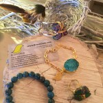 I adored all the handmade jewelry by BraveChick.com that I found at the Consumer Products Event - all created by a survivor of domestic abuse.