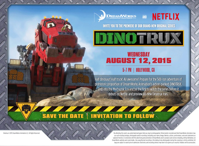 The beverly hills mom what an awesome invitation we had a blast the beverly hills mom what an awesome invitation we had a blast at the netflix dinotrux event streamteam stopboris Image collections