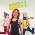 My little supermodel/actress friend Stella got the jump on back to school fashions when we previewed the new fall collection of #Crazy8 at Shadow PR
