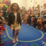 This gorgeous little diva werking the runway in #MixedUpClothing