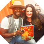 Taye Diggs was really nice and super cool amid much kid noise and excitement. I loved the message and the language of his book!