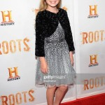 Lola at the premiere of ROOTS  looking adorable in the ensemble