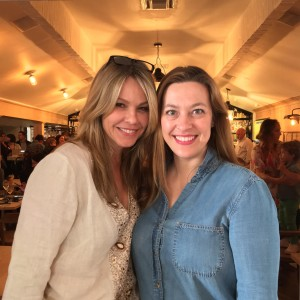 Elise and I had a really fun conversation with Andrea Roth at the launch of  CHIPWRECKED at Au Fudge