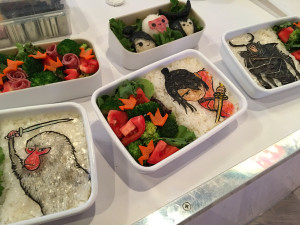 the most insanely artistic bento boxes by Little Miss Bento at the KUBO premiere