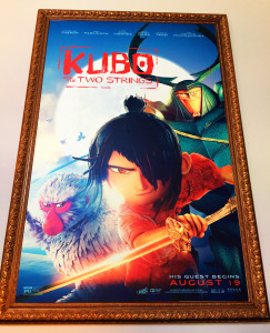 I really can't say enough great things about the KUBO movie - it has a great story with an incredibly artistic presentation - stop motion is such an amazing art!