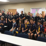 Pack 100 with the BHPD evening shift
