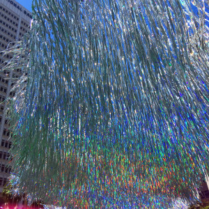 detail of Shard - a kinetic sculpture by Poetic Kinetics was displayed at Pershing Square in DTLA - we had a fun (albeit hot) day out